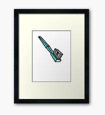 TOOTHBRUSH Framed Print