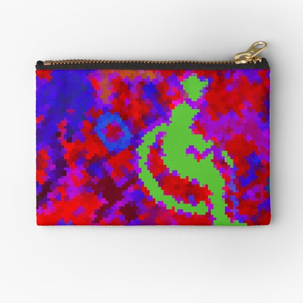 Handicap and Singularity Mozaïc 6 by RootCat/marie b. Zipper Pouch