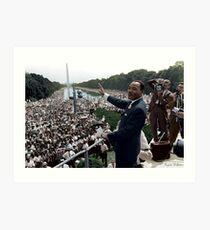 MLK's March On Washington, August 27, 1963 Art Print