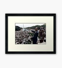 MLK's March On Washington, August 27, 1963 Framed Print