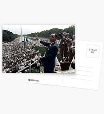 MLK's March On Washington, August 27, 1963 Postcards