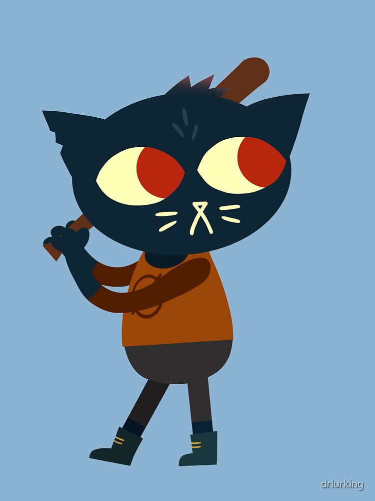 Night In The Woods Mae Borowski With A Baseball Bat Kids T Shirt By Drlurking Redbubble Margaret borowski , better known as mae , is the protagonist of night in the woods. redbubble