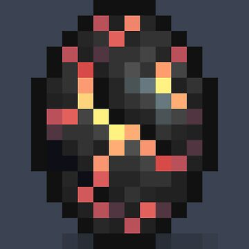 Pixel Volcanic Shield by BenHenry