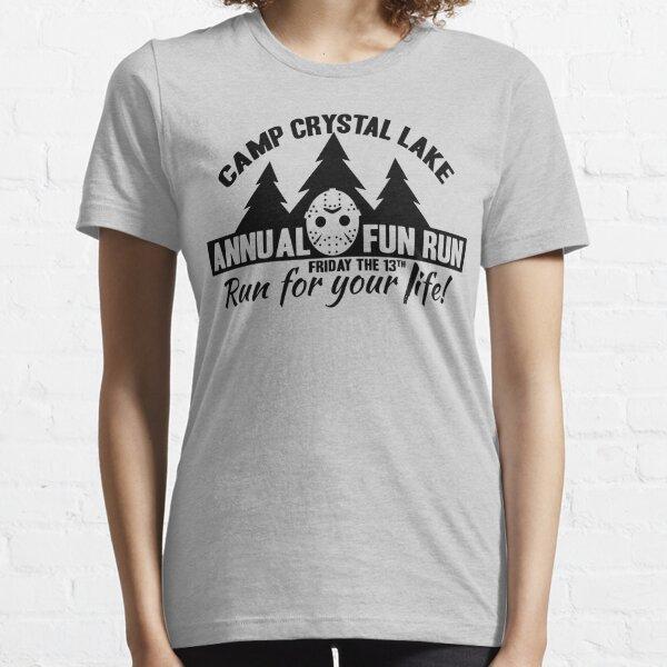 Mens HorrorCamp Crystal Lake T-Shirt
