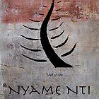 Nyame Nti Adinkra Symbol by GrimalkinStudio