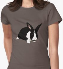 BUNNY BLACK WHITE RABBIT T-Shirt