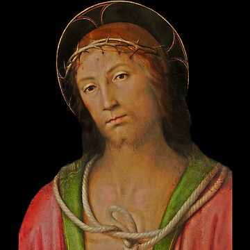 Christ Wearing Crown of Thorns by dianegaddis