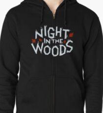 Night in the Woods logo Zipped Hoodie