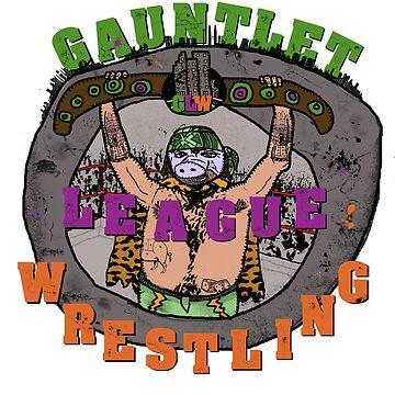 Gauntlet League Wrestling by redmagus77