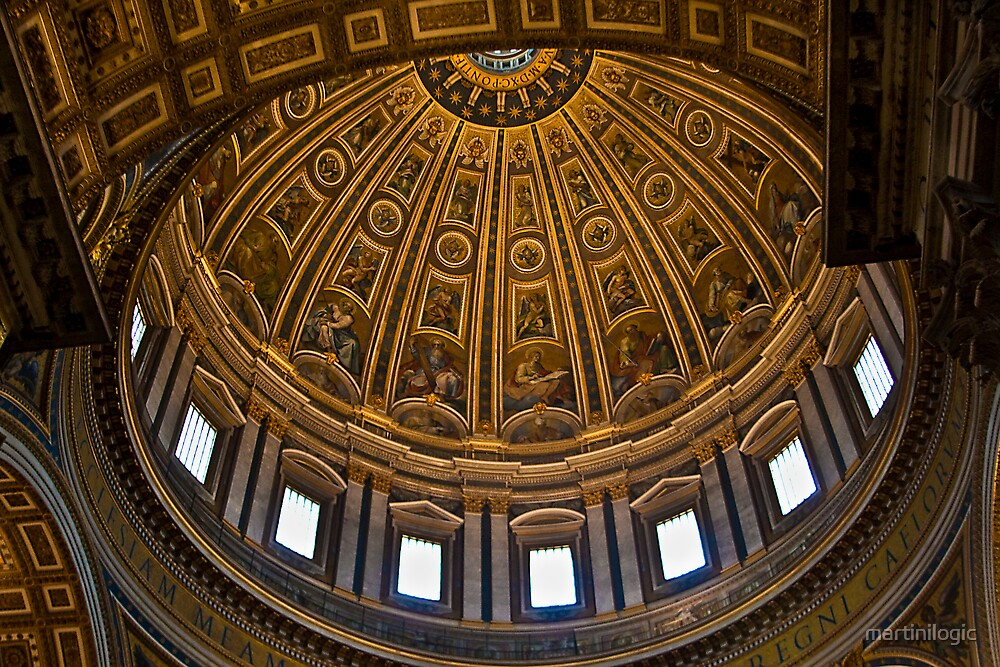 Cathedral Dome by martinilogic