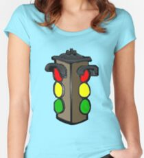 TRAFFIC LIGHTS Women's Fitted Scoop T-Shirt
