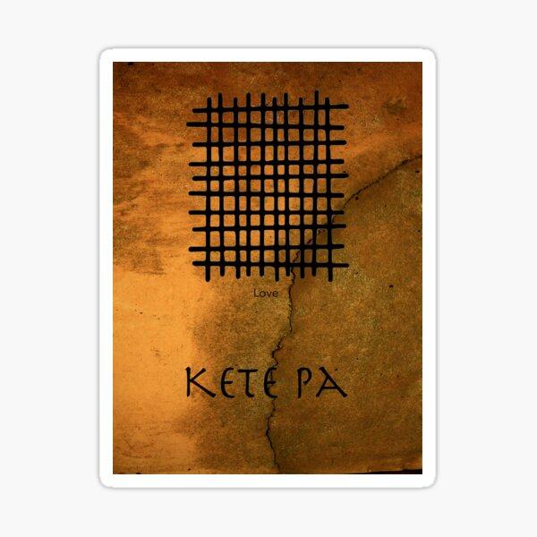 Kete Pa Adinkra Symbol Sticker