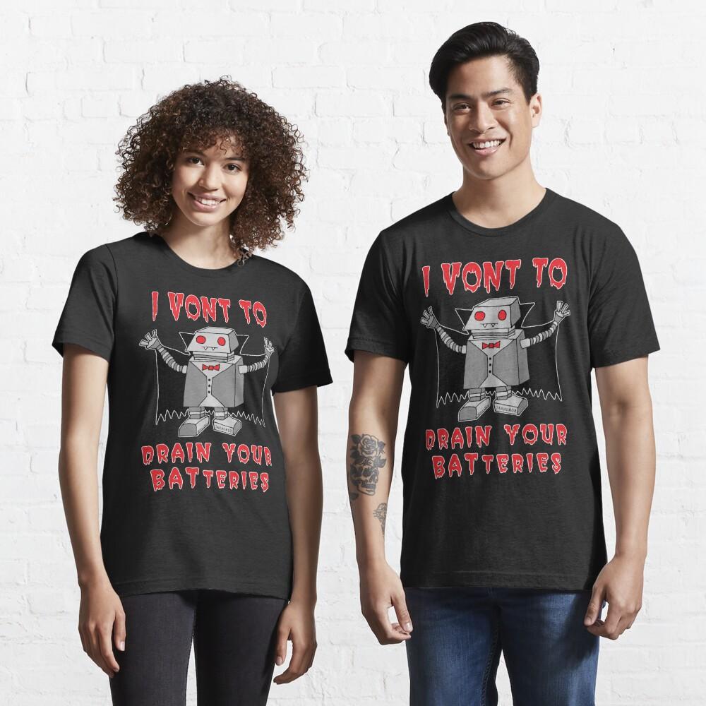 Robot Vampire Essential T-Shirt