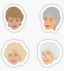 Golden Girls Sticker Set Sticker