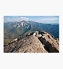 Moro Rock View Photographic Print