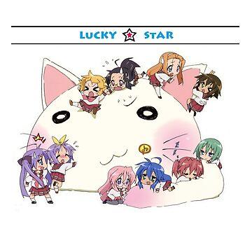 "Lucky Star Chibi ""Chibi Star!"" by theglisett1"