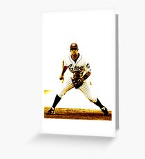 Classic baseball Greeting Card