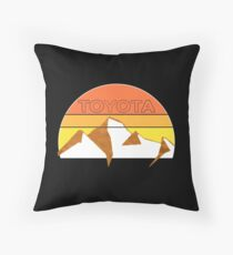 Toyota Trail Throw Pillow