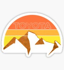 Pegatina Toyota Trail