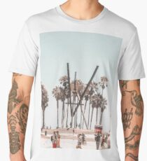 Venice Beach Boardwalk Men's Premium T-Shirt