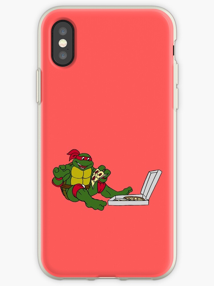 TMNT - Raphael with Pizza by DGArt