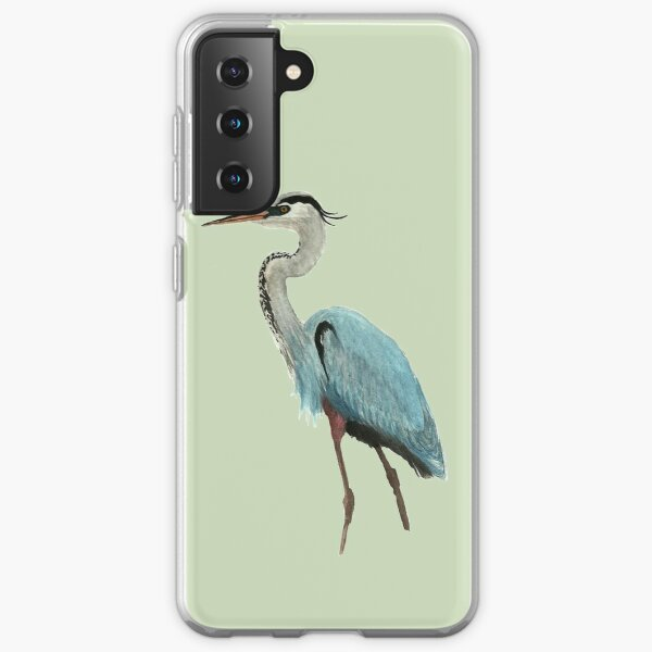 Great Blue Heron Samsung Galaxy Soft Case