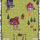 Pixel Town by Ben Henry