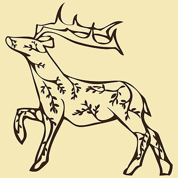 Striding Stag by crossfire1013