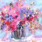 Bitsy Blooms Bouquet by Pamela Gatens