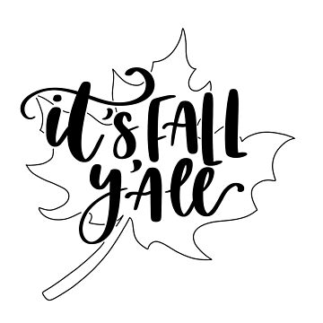 It's Fall Y'all by flotodesign