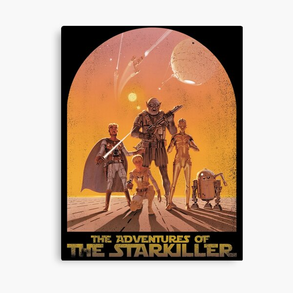 The Adventures of the Starkiller Canvas Print