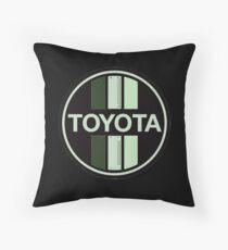 Toyota Novel Throw Pillow