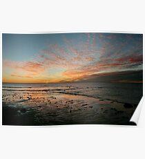 Yardie Creek Sunset Poster