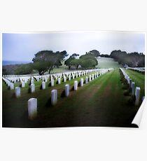 Rosecrans Military Cemetery Poster
