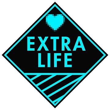 Extra Life (blue) by xtrolix