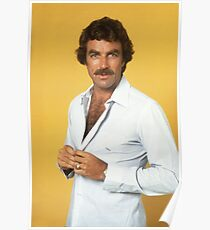 Tom Selleck Poster