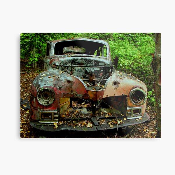 The old Car at Jackfish Ontario Metallbild