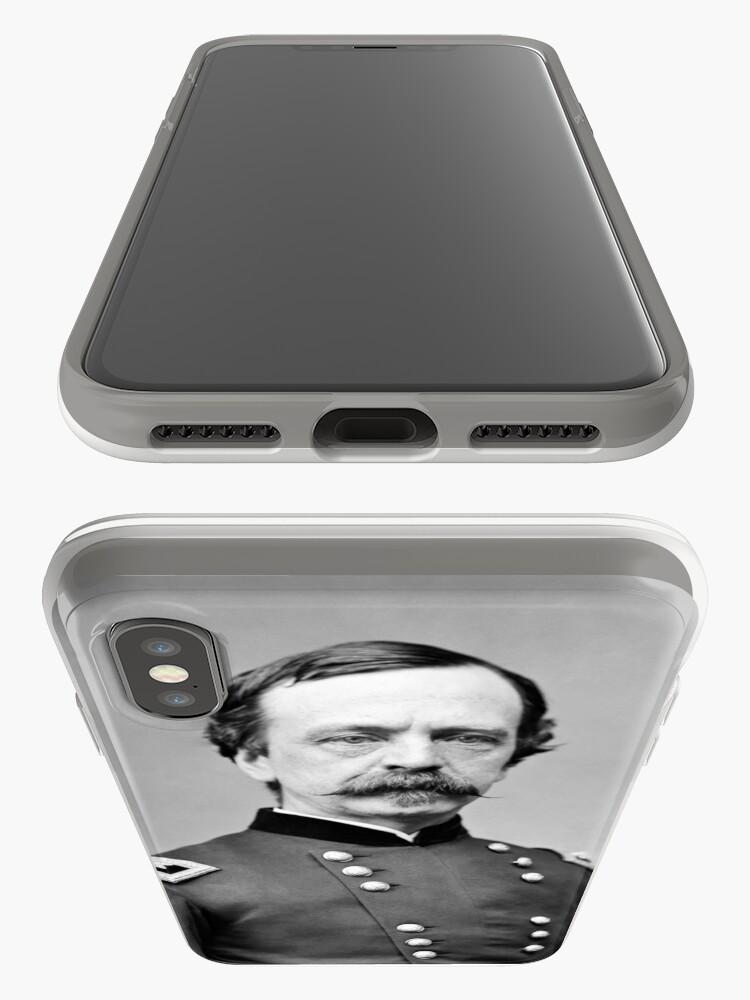 Vista alternativa de Vinilos y fundas para iPhone General Dan Sickles - Retrato de la Guerra Civil