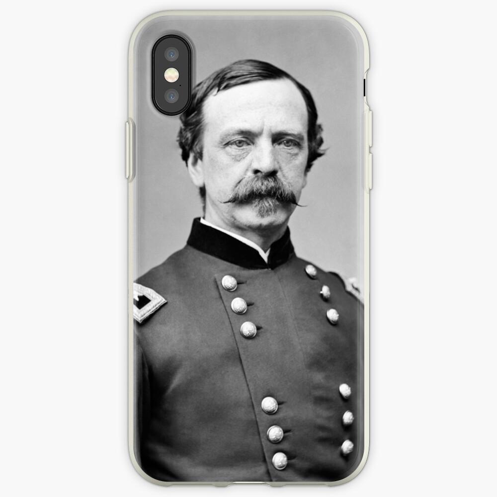General Dan Sickles - Retrato de la Guerra Civil Vinilos y fundas para iPhone