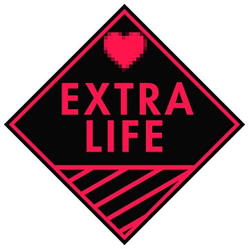 Extra Life (red-pink) by xtrolix