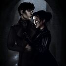 Audrey Rose and Thomas  by Dark-Beautiful