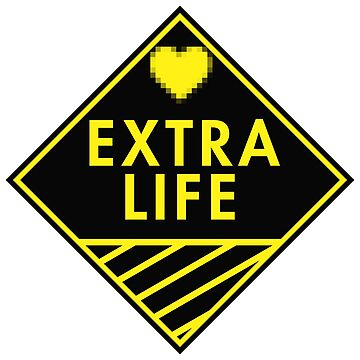 Extra Life (yellow) by xtrolix