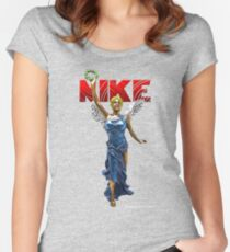 Nike Goddess of Victory Women's Fitted Scoop T-Shirt