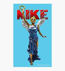 Nike Goddess of Victory Photographic Print
