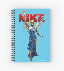 Nike Goddess of Victory Spiral Notebook