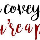 damn covey by bwayjulianna