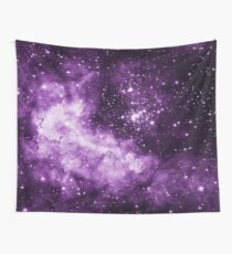 Purple Galaxy - Westerlund 2 — Hubble's 25th Anniversary Image (Color Enhanced) Wall Tapestry