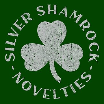 Silver Shamrock Novelties by huckblade