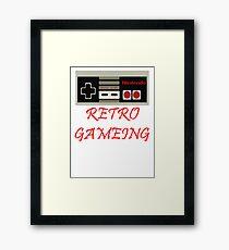 Retro Gaming Framed Print