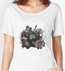 Schurkenklasse D20 - Tabletop Gaming Dice Baggyfit T-Shirt